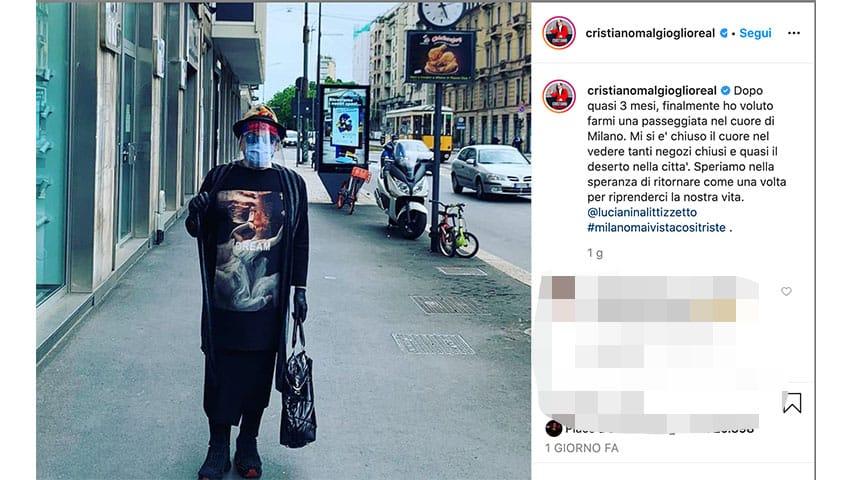 Post di Cristiano Malgioglio su Instagram