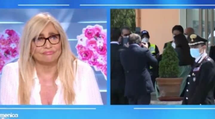 Mara Venier a Domenica In segue in diretta l'arrivo in Italia di Silvia Romano