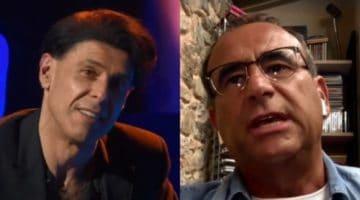 carlo conti ricorda ezio bosso in video-collegamento con Domenica In