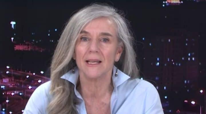 Giovanna Botteri in video-collegamento a Domenica In