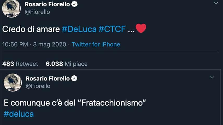 Tweet di Fiorello