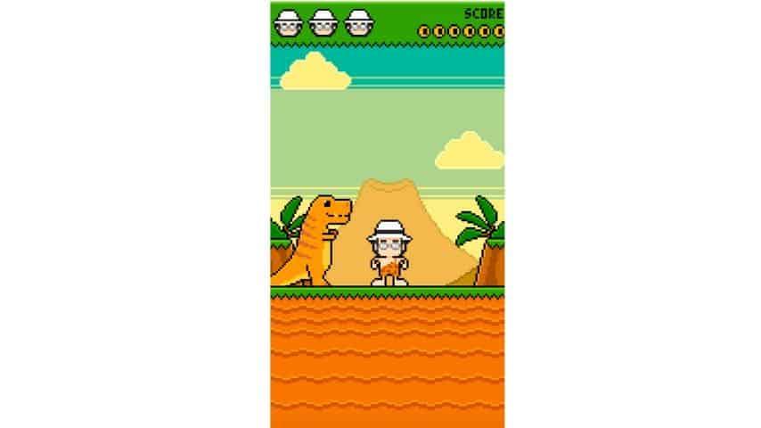 Albano Vs Dinos, il videogioco