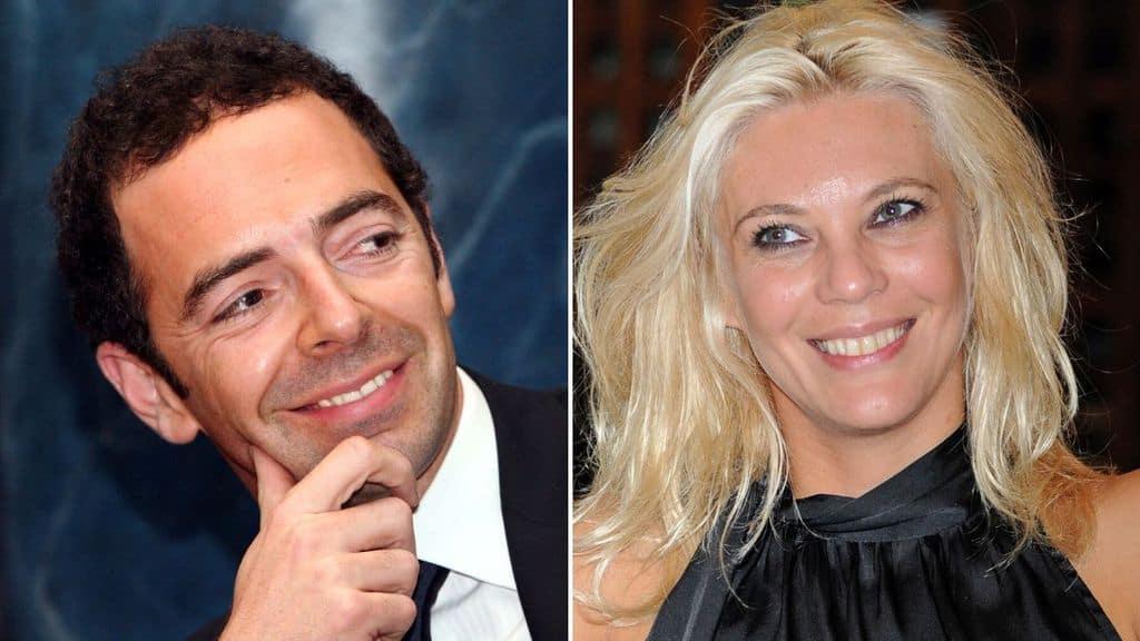 Primi piani di Alberto Matano ed Eleonora Daniele
