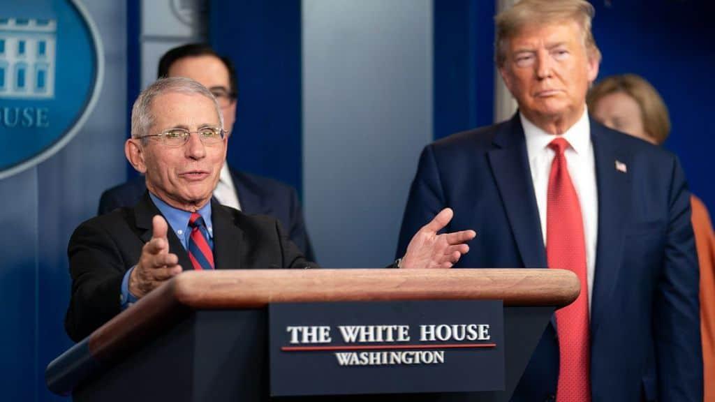 Anthony Fauci e Donald Trump