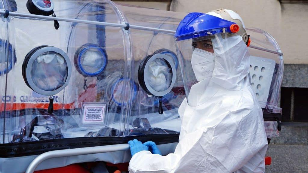 barella speciale Coronavirus