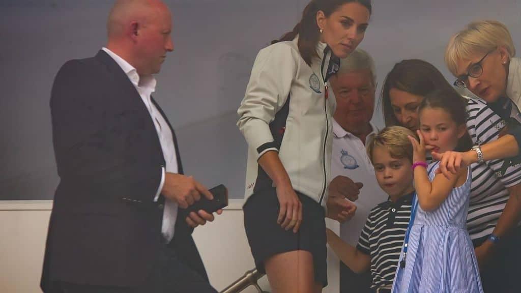 la piccola principessa Charlotte con mamma Kate