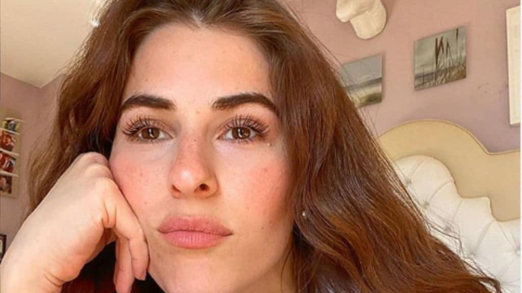 Diana Del Bufalo, un selfie