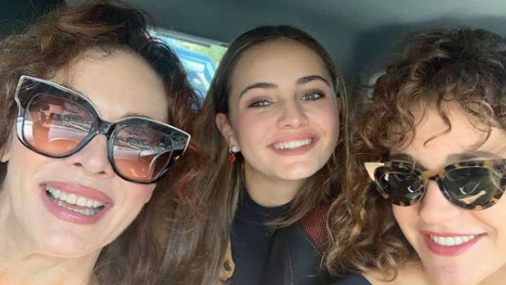 Elena Sofia Ricci e la figlia Elena Quartullo