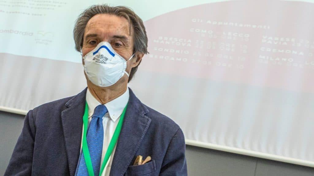 Fontana  assassino  |  il virologo Pregliasco  venduto   Ecco la democratica  Lombardia di