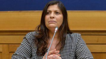 Jole Santelli presidente della Regione Calabria in primo piano