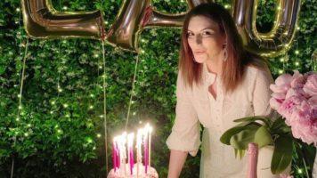 Laura Pausini spegne le candeline