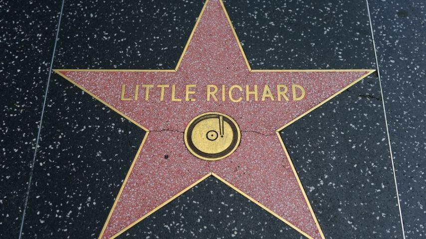 La stella sulla Walk of Fame di Los Angeles dedicata a Little Richard