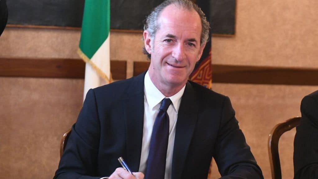 Il Governatore Luca Zaia