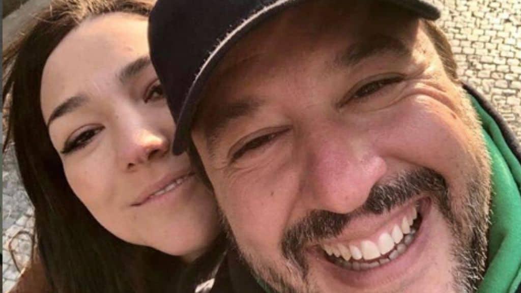 Matteo Salvini e Francesca Verdini