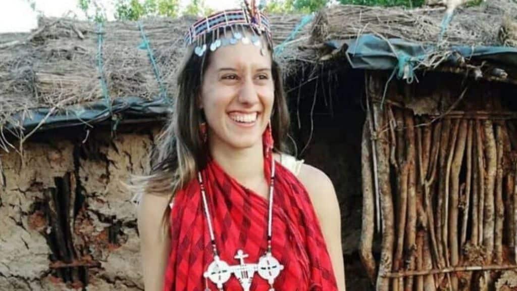 Silvia Romano in Africa