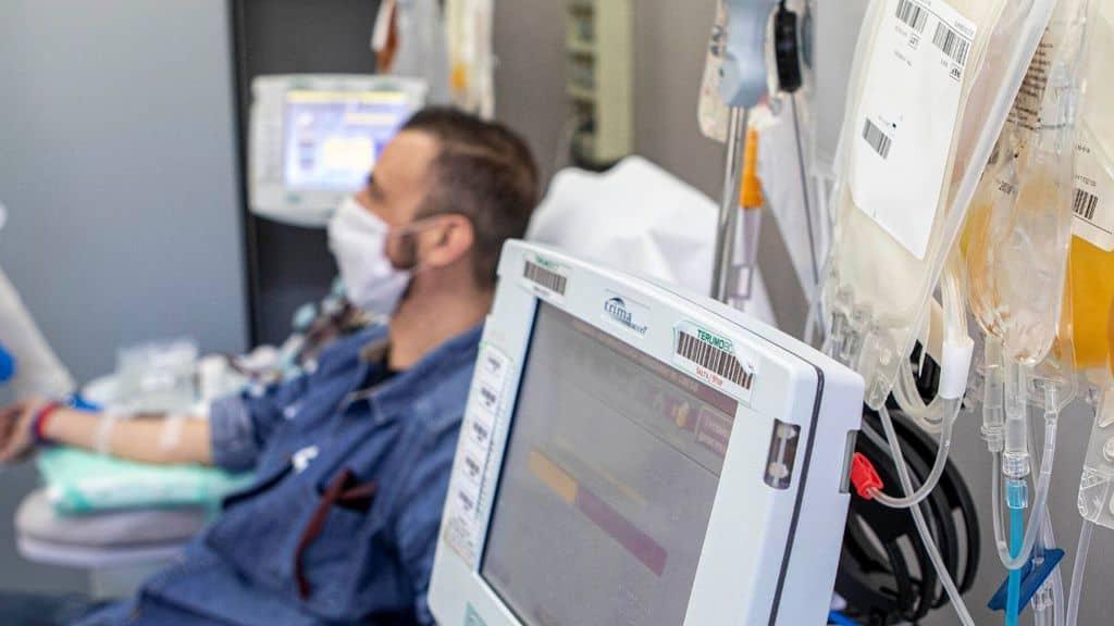 terapia plasma iperimmune