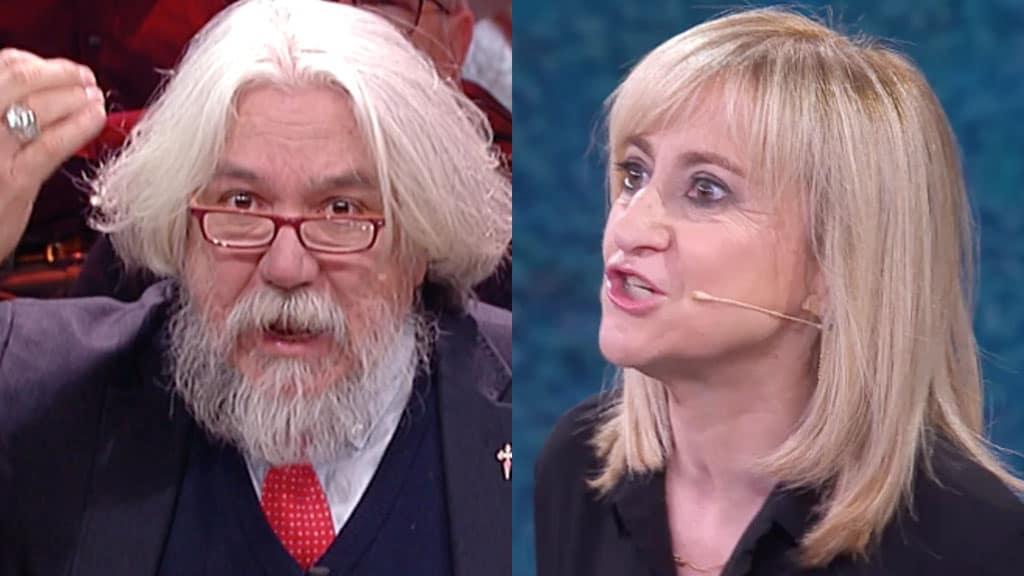 Alessandro Meluzzi e Luciana Littizzetto