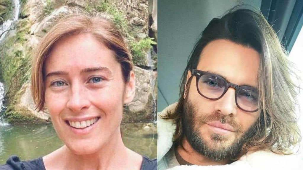 Maria Elena Boschi e Giulio Berruti in primo piano