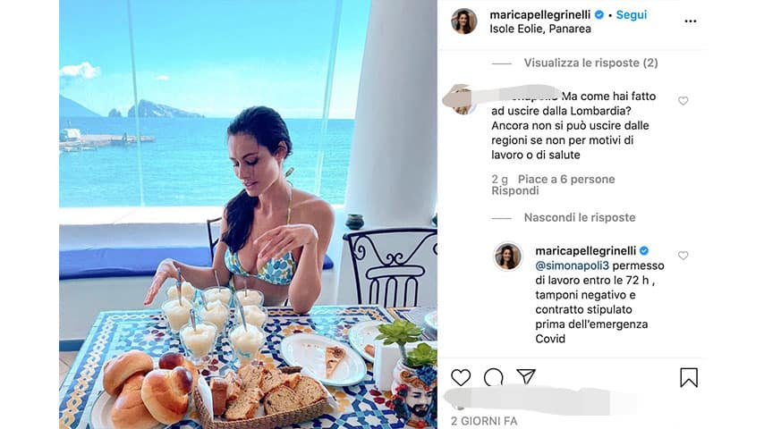 Post di Marica Pellegrinelli