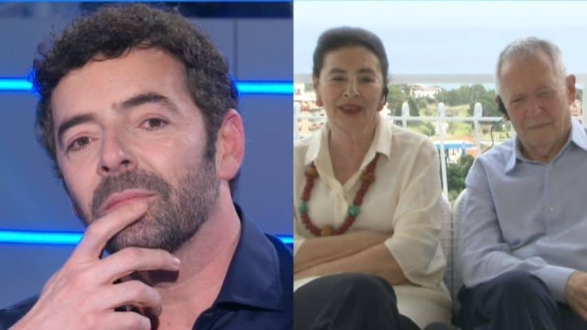 Alberto Matano: la sorpresa dei genitori a Domenica In