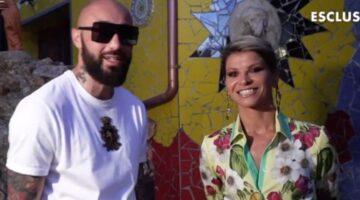 Alessandra Amoroso Boomdabash video-messaggio verissimo