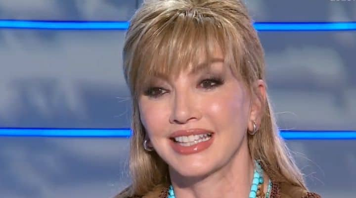 Milly Carlucci a Domenica In
