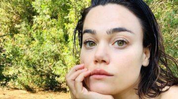 Romina Carrisi primo piano figlia romina power al bano
