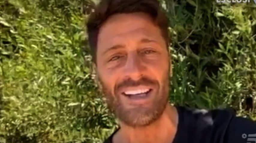 Filippo Bisciglia video-collegamento verissimo