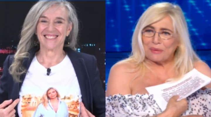 Giovanna Botteri e Mara Venier