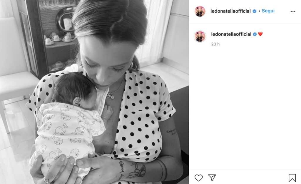 Il post Instagram di Silvia Provvedi