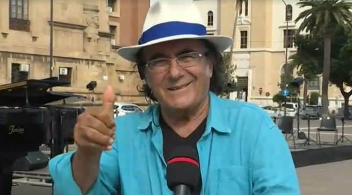 Al Bano Carrisi in diretta da Taranto