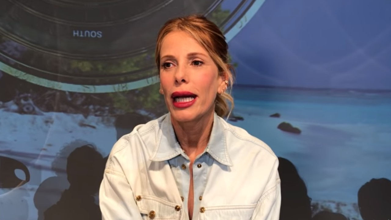 Alessia Marcuzzi in un'intervista