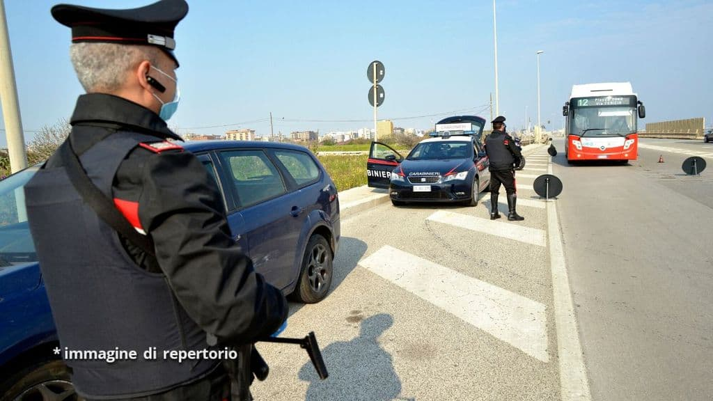 volanti dei carabinieri