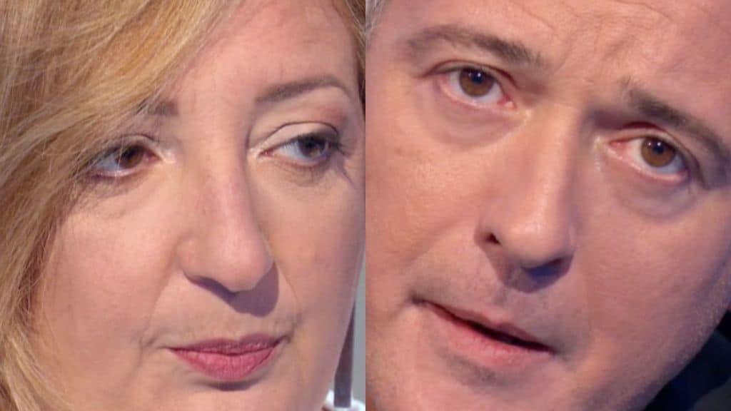 Cinzia Felicetti e Pierluigi Diaco in primo piano