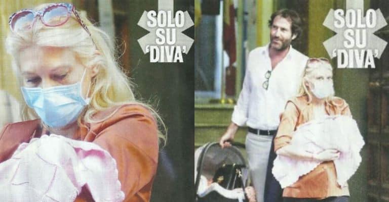 Eleonora Daniele, marito e figlia nelle foto di Diva e Donna