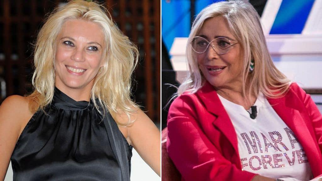 Le conduttrici Eleonora Daniele e Mara Venier