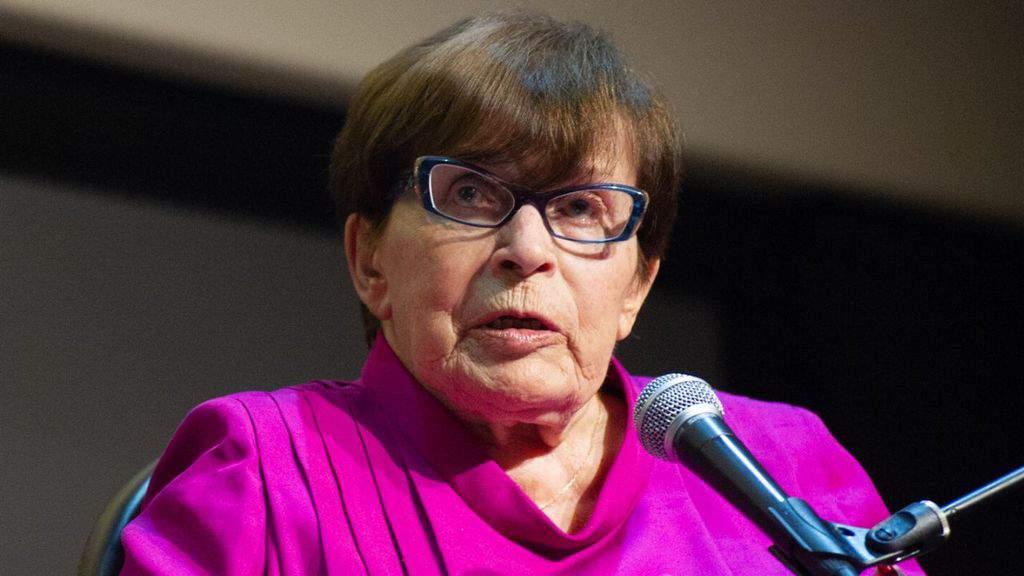 Franca Valeri verso i 100 anni ricorda l'orrore di Mussolini e delle leggi razziali