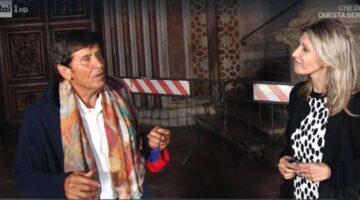 Gianni Morandi intervistato a La Vita in Diretta