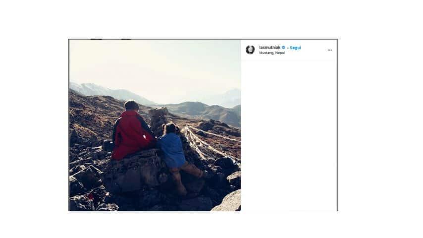 Il post su Instagram di Kasia Smutniak per ricordare Pietro Taricone
