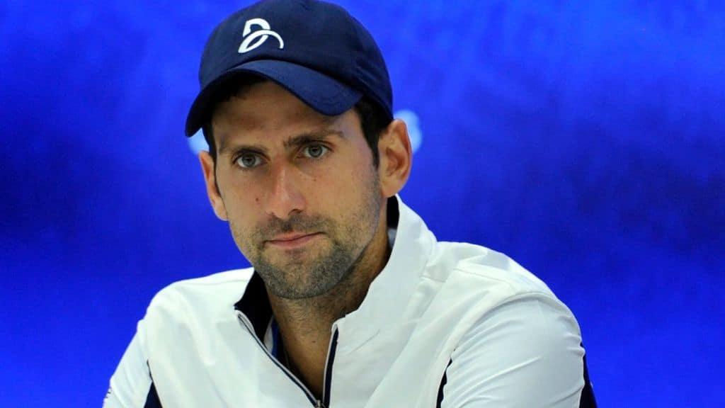 Il tennista Novak Djokovic