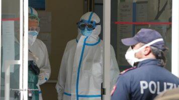 Ospedale chiuso per Coronavirus e Polizia