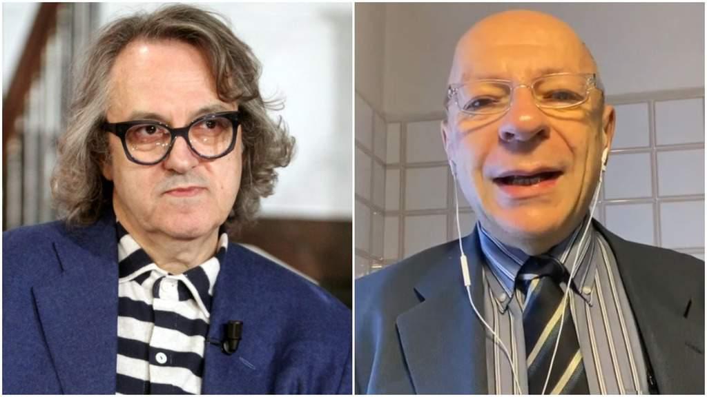Gigi Marzullo e Mauro Coruzzi