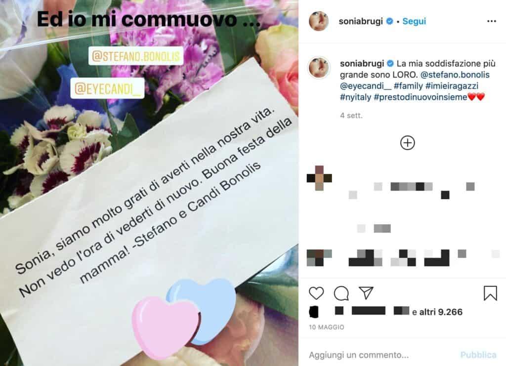 Post Instagram di sonia bruganelli