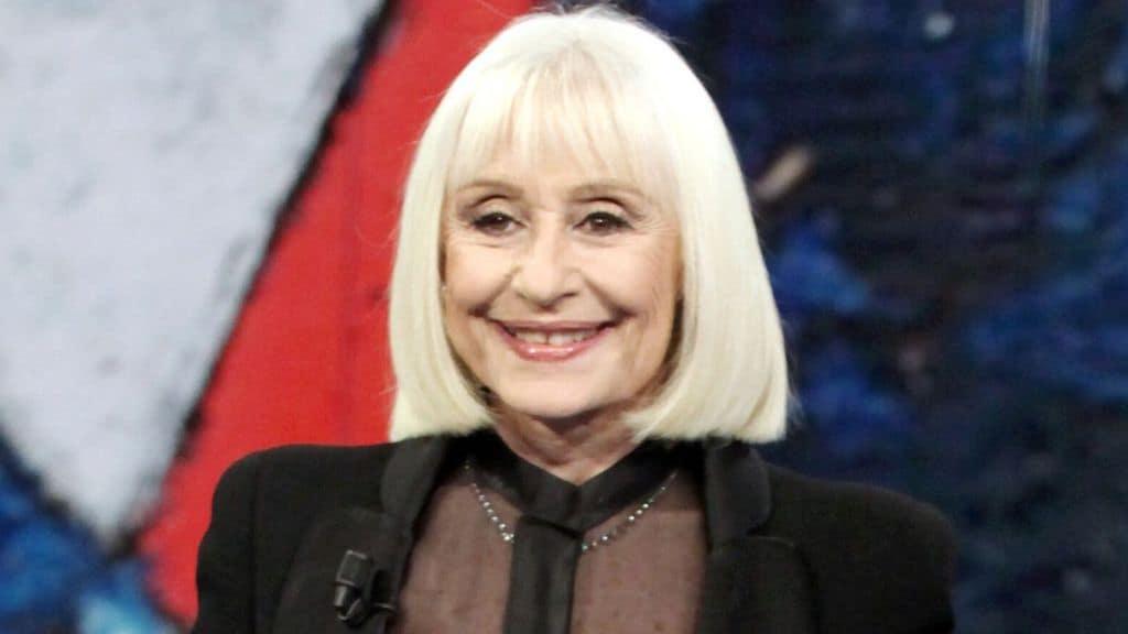 Raffaella Carrà in primo piano