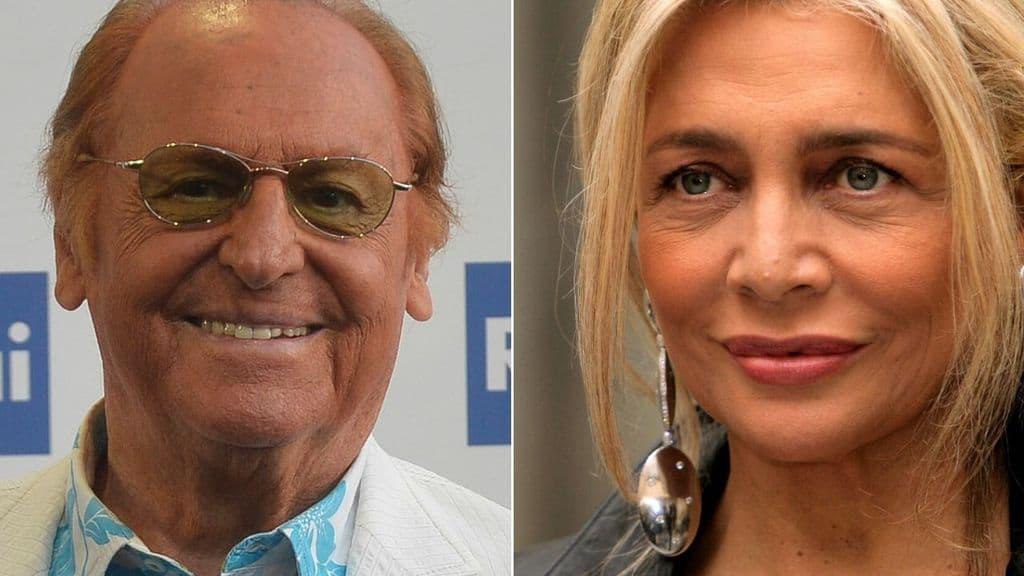 Renzo Arbore e Mara Venier