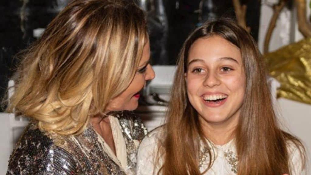 Simona Ventura e la figlia Caterina