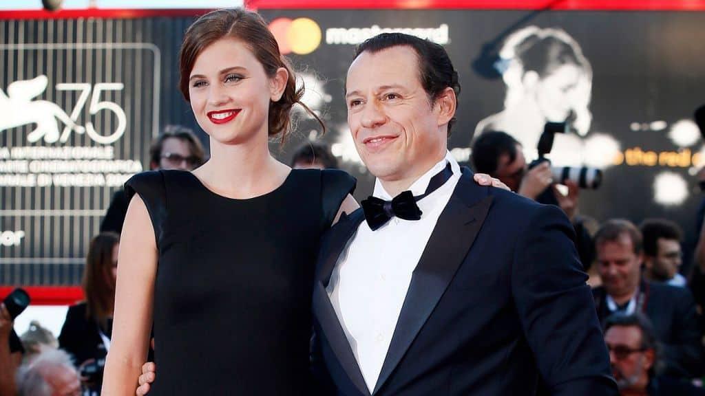 Stefano Accorsi e Bianca Vitali sul red carpet