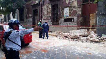 rovine a seguito del terremoto