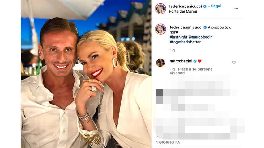 Post di Federica Panicucci su Instagram