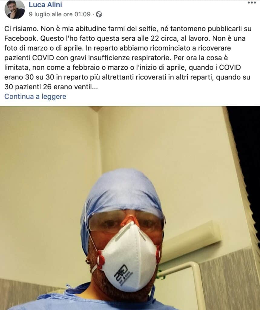 Il post di Luca Alini
